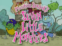 Seven Little Monsters Title