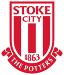 Stoke City FC logo (red and white only)