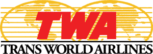 Trans World Airlines Globe Map Logo 1