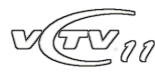 VCTV11 logo (2008-11) remake by TN Archive