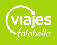 Viajes Falabella logo 2009 con fondo