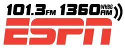 WHBG ESPN 1360 AM 101.3 FM