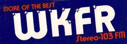WKFR 103 FM
