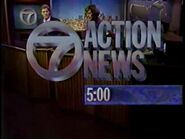 WXYZ 7 Action News open 1989 1