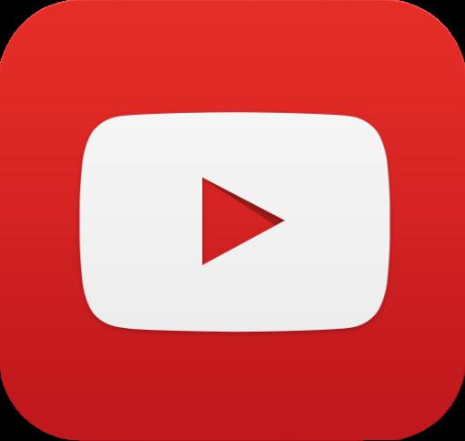 Výsledek obrázku pro youtube logo png