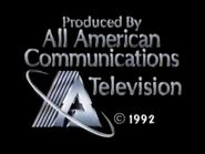 All American Communications Television 1992 Closing