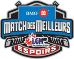 BMO Top Prospects Game logo (French)