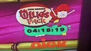 Ollie's pack Countdown