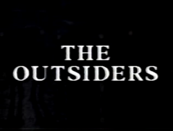 The Outsiders title card