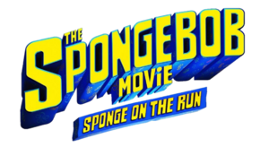 The SpongeBob Movie Sponge on the Run - logo