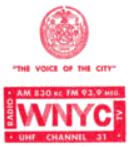 WNYC New York 1966