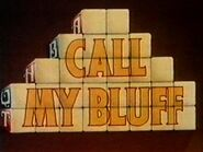 Call my bluff 1994 t995a