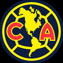 Escudo Club América 2017-Actual Azul