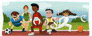 Google London 2012 Olympic Games - Opening Ceremony