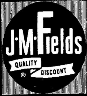 JM Fields - 1962 -May 12, 1966-