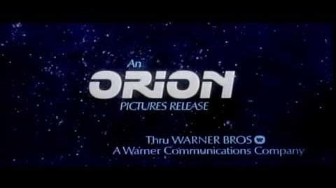 Orion 1981 Warner logo scope