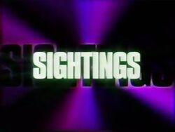 Sightings (1995)