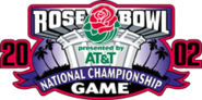 2002 Rose Bowl logo