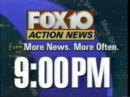 Action News 10 9PM Promo 1996 1