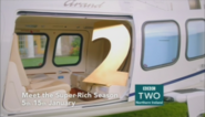 BBC Two NI Meet the Super Rich season ident