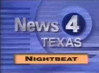 KDFW News 4 Texas Nightbeat open - 1993
