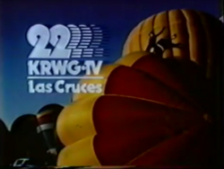 KRWG logo 1980s