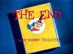 The End A Walt Disney Production (The Truth About Mother Goose Variant)