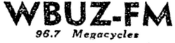 WBUZ Morningside 1947
