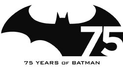 Batman 75 years logo a l