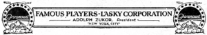 Famous Players-Lasky Corporation 1921