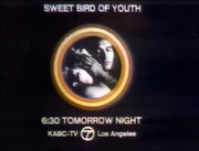 KABC Sweet Bird Of Youth Promo Slide 1972