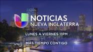 Noticias univision nueva inglaterra 11pm mas tiempo contigo promo 2019