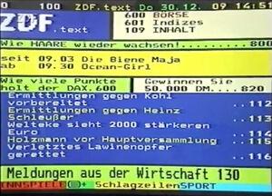 Zdftext 1999