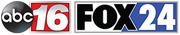 WGXA FOX24 ABC16 logo
