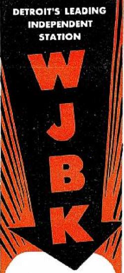 WJBK Detroit 1946