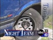 Alabama's ABC 33-40 Night Team News at 10 promo
