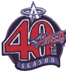 Anaheim Angels logo (40th anniversary)