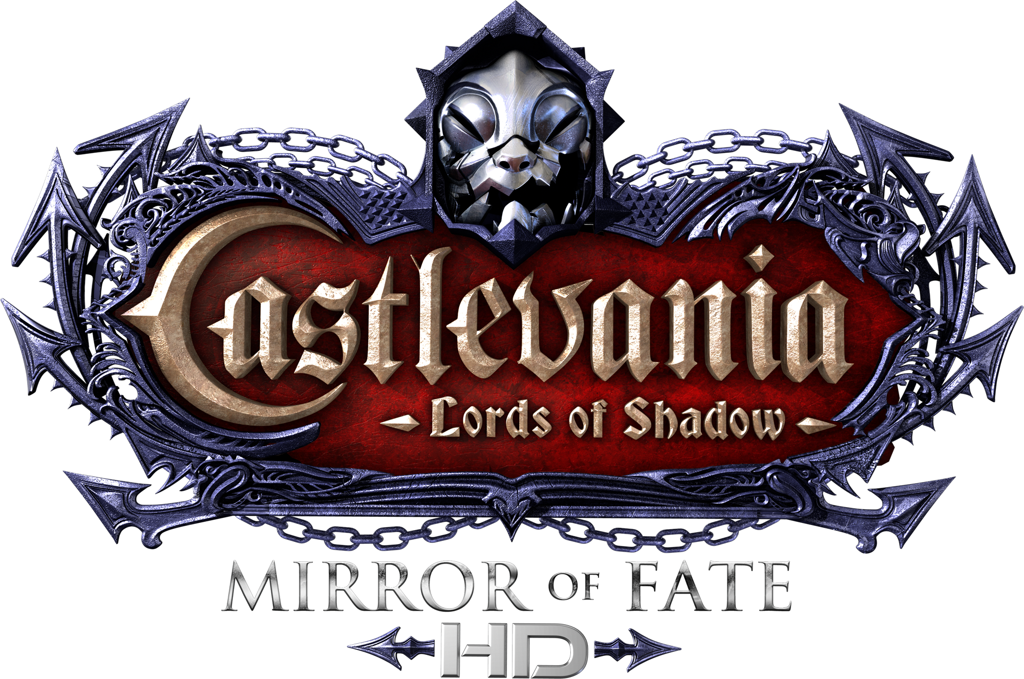 Castlevania Lords Of Shadow Mirror Fate HD Logo