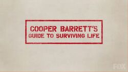 Cooper Barrett's Guide to Surviving Life Title Card