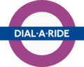Dial a Ride roundel