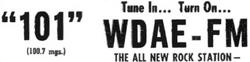 WDAE Tampa 1972