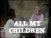 ''All My Children'' Video Close From March 15, 1971