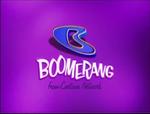 Boomerang logo (Purple Background
