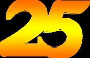 Indosiar 25 Tahun Gold Number