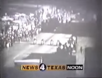 KDFW News 4 Texas noon in-program open - 1995