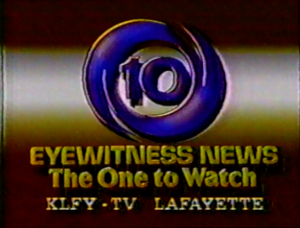 KLFY Eyewitness News ID 1984