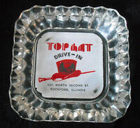 Vintage-1950s-TOP-HAT-DRIVE-IN-RESTAURANT-Sonic-Rockford-Illinois