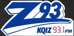 93.1 KQIZ-FM Z93