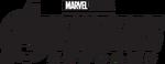 Avengers Endgame print logo