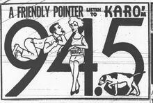 KARO 1960 ad